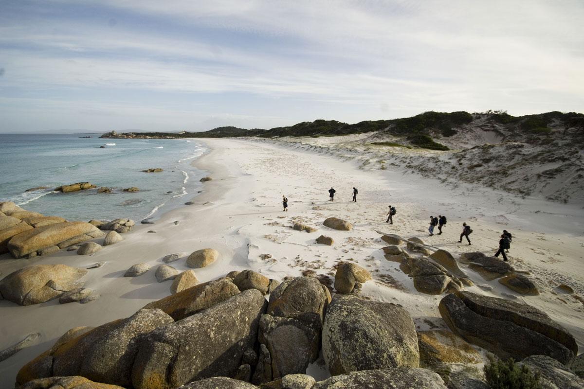 Explore the Bay of Fires Coastline with Great Walks of Australia.