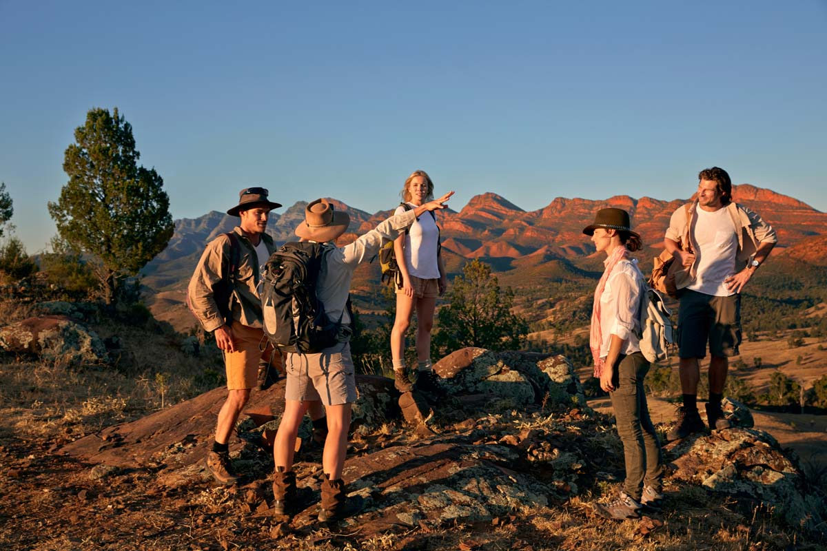 Learn from your expert guide on the Arkaba Walk with Great Walks of Australia.