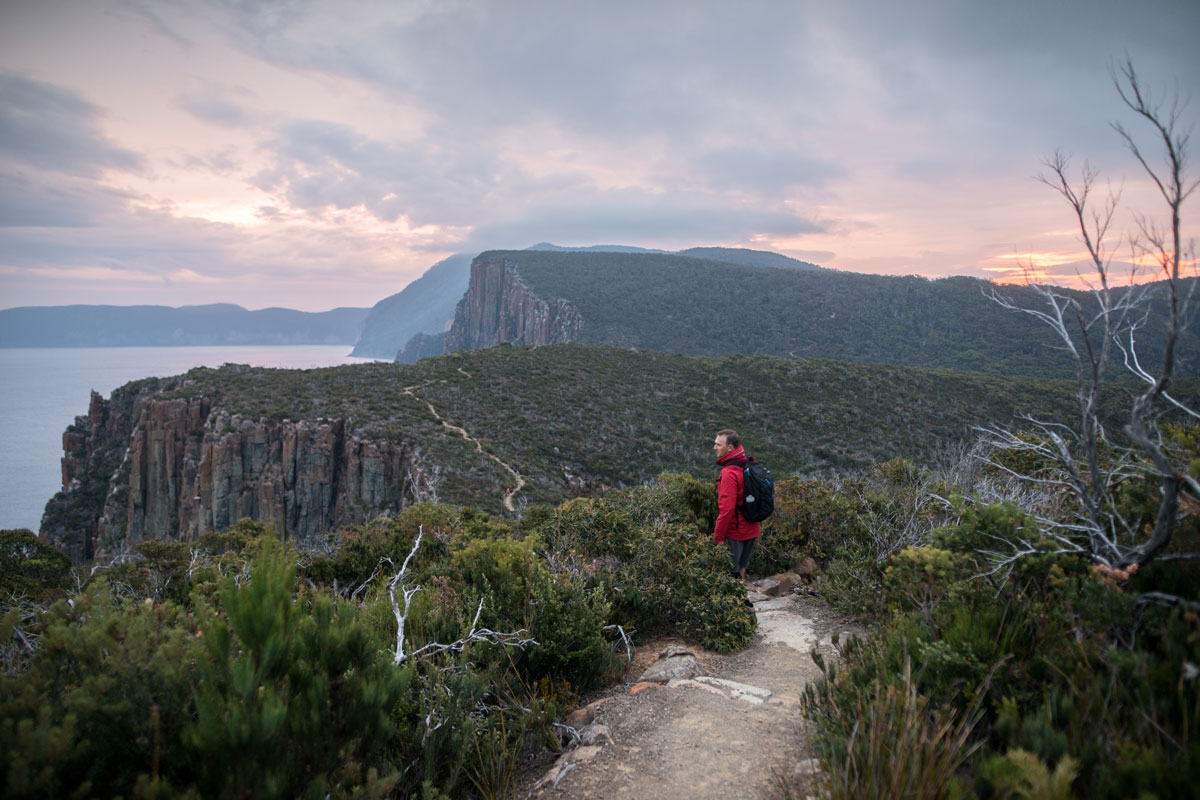 Experience incredible coastline views on the Three Capes Lodge Walk in Tasmania with Great Walks of Australia.