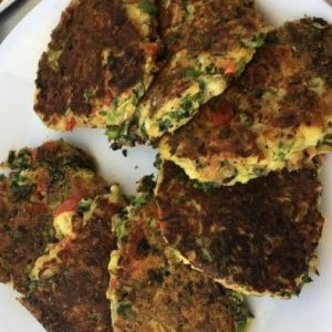 Haloumi Fritters on the Murray River