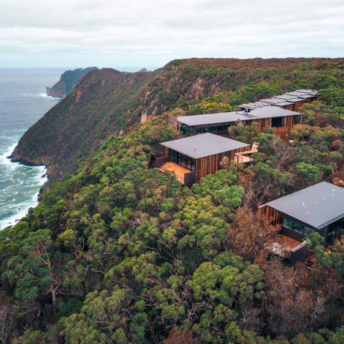 Cape Pillar Lodge on the Three Capes Walk