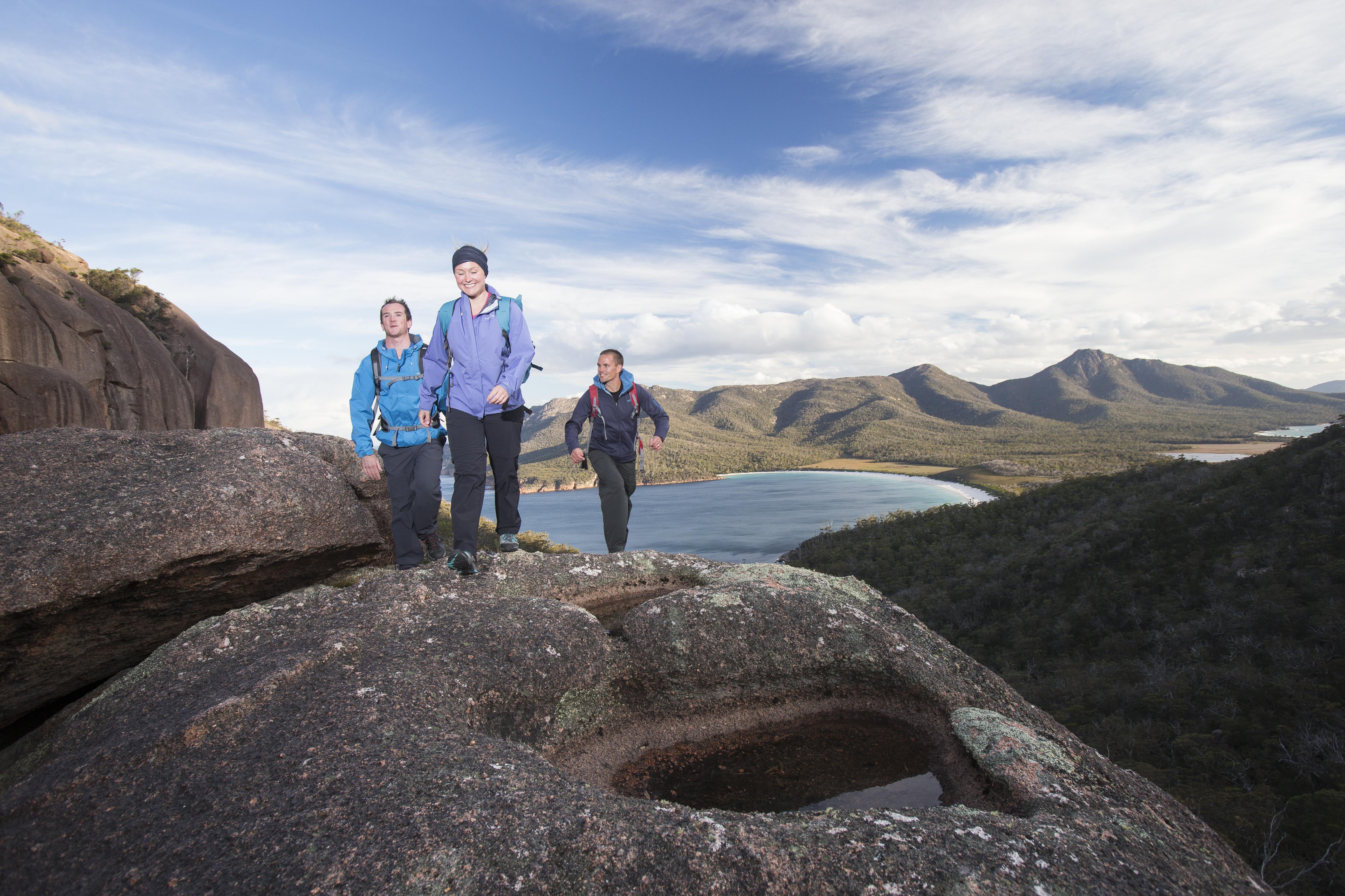 Exploring Tasmania